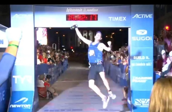 Robert Dobroski...YOU ARE AN IRONMAN!